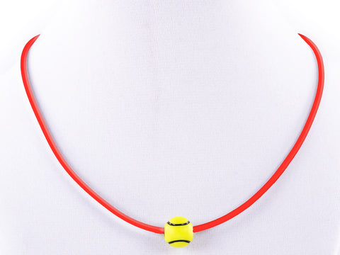 Tennis Ball Necklace