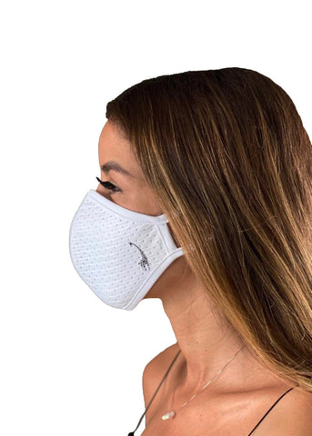 Ergonomic Face Mask White