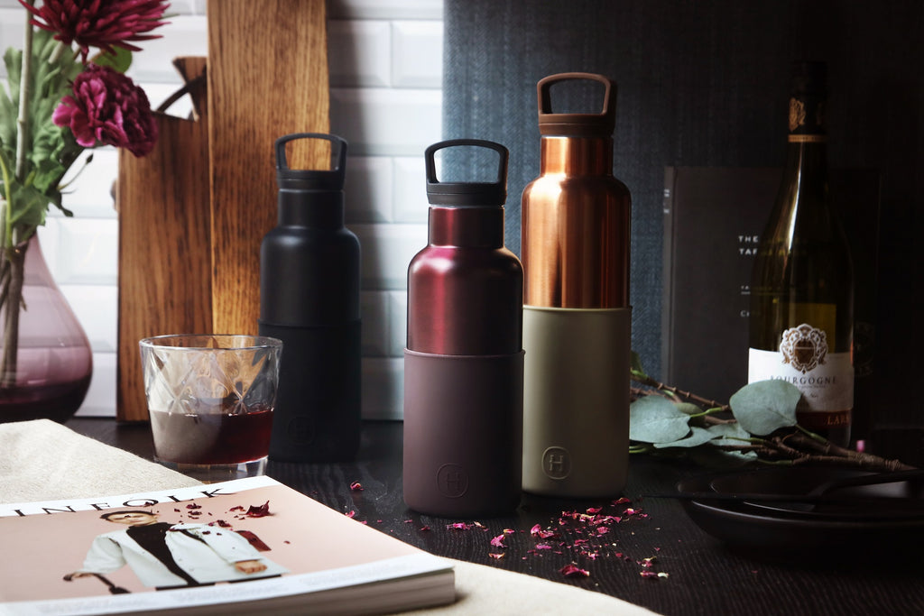 HYDY | Vacuum Insulated Thermos Water Bottle - BPA Free Stainless