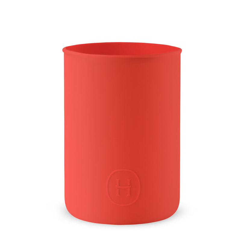 Silicone sleeve- Imperial Red, HYDY - Water bottles, 18/8 (304) Stainless Steel, BPA Free, Reusable