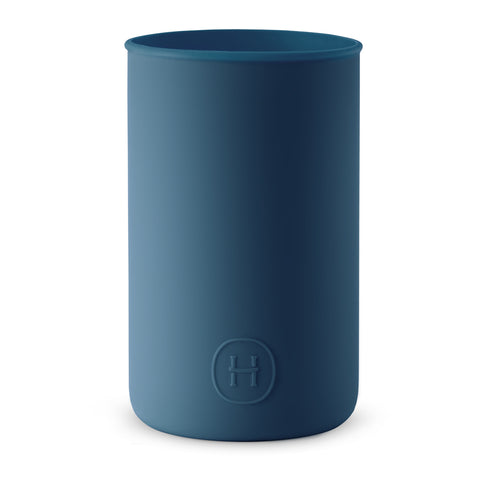 Silicone sleeve- Navy Blue, HYDY - Water bottles, 18/8 (304) Stainless Steel, BPA Free, Reusable