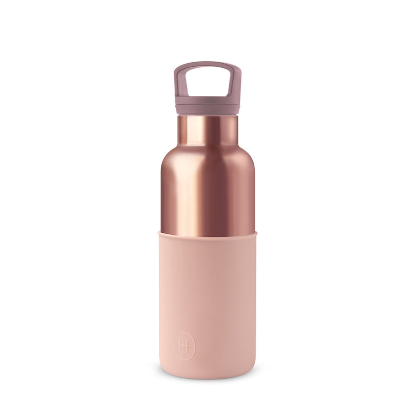 Pink Gold Bottle and Tumbler Set, HYDY - Water bottles, 18/8 (304) Stainless Steel, BPA Free, Reusable
