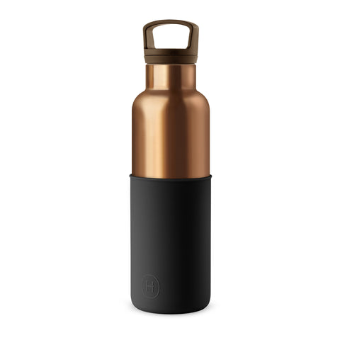 HYDY CinCin Déco-Bronze Gold-Midnight Black Double Wall Stainless Bottle