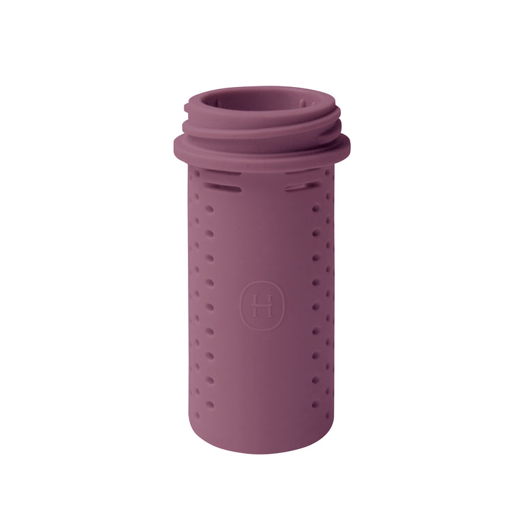 Silicone Tea Infuser-Dusty Rose, HYDY - Water bottles, 18/8 (304) Stainless Steel, BPA Free, Reusable