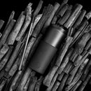 Black Travel Mug - Ink Black 15 Oz