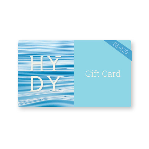 HYDY Gift Card $5~$120, HYDY - Water bottles, 18/8 (304) Stainless Steel, BPA Free, Reusable