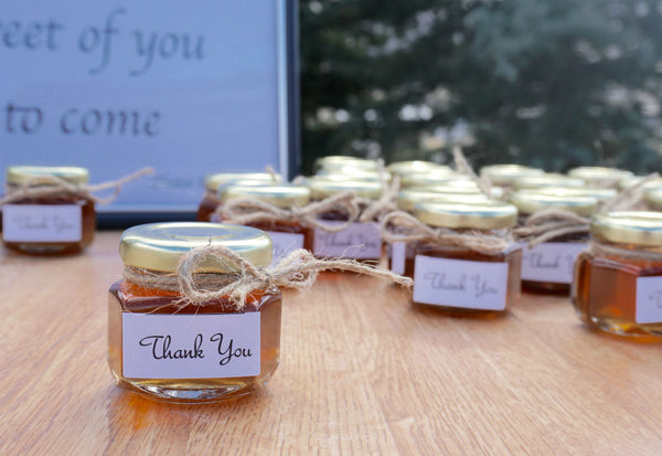 Mini Lavender Honey - Great Gifts - Customizeable, Thank You Gifts, Set of 24