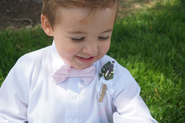 Lavender Boutonniere - Beautiful, Bright & Fragrant