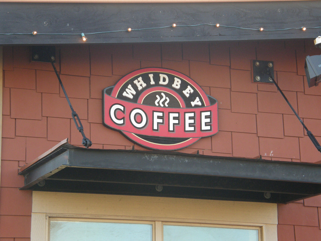When in Anacortes, check out Whidbey Coffee.