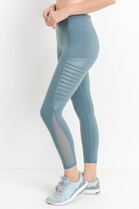 TEAL MERMAID LEGGING