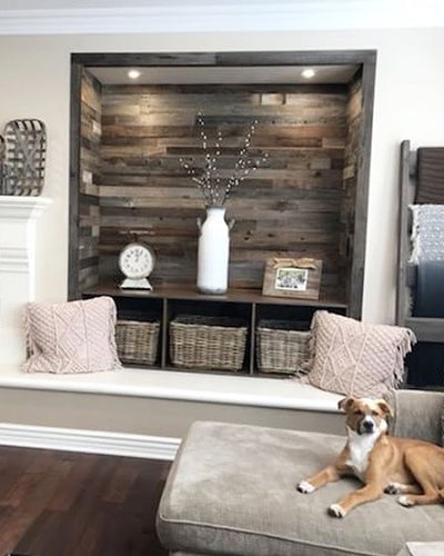best peel and stick wood for walls easy reclaimed barnwood shiplap thin plank and mill reviews