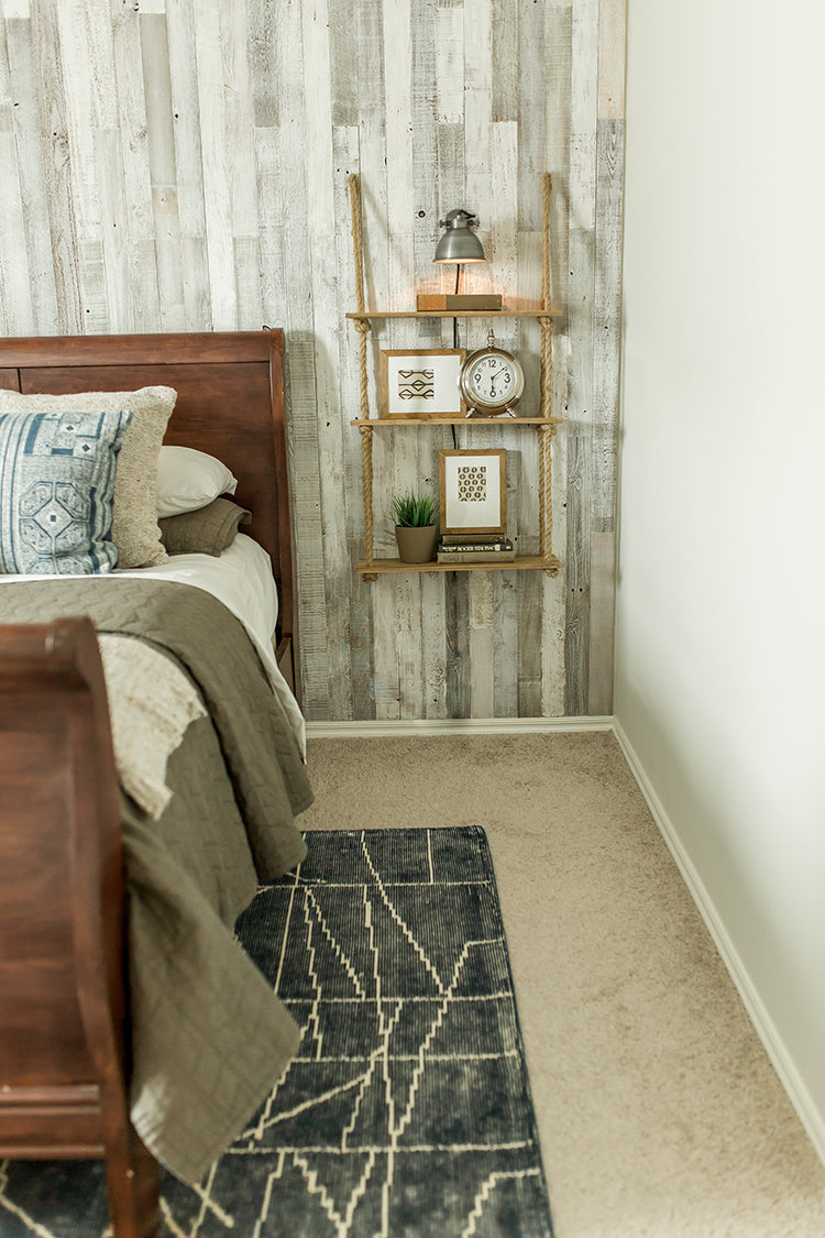 Plank and Mill Rustic Modern Bedroom Hey Thuy