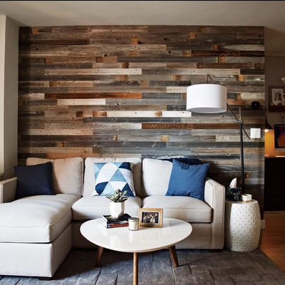 Peel And Stick Wood Wall Wood Wall Paneling Plank And Mill