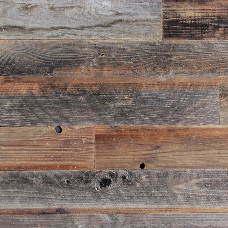 Plank and Mill Peel Stick Reclaimed Wood