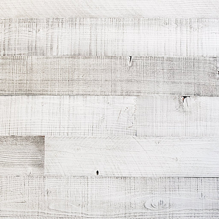 Plank & Mill whitewashed reclaimed barn wood plank