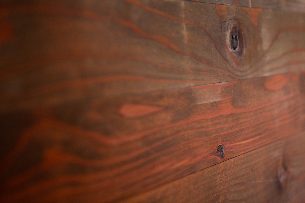 "Northwest Redwood Finish 3"" Wide Planks"