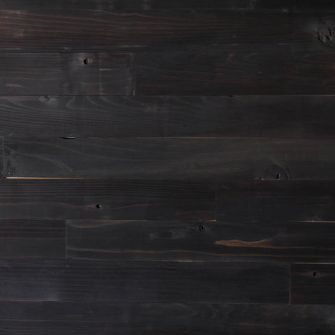 "Northwest Charcoal Finish 3"" Wide Planks"