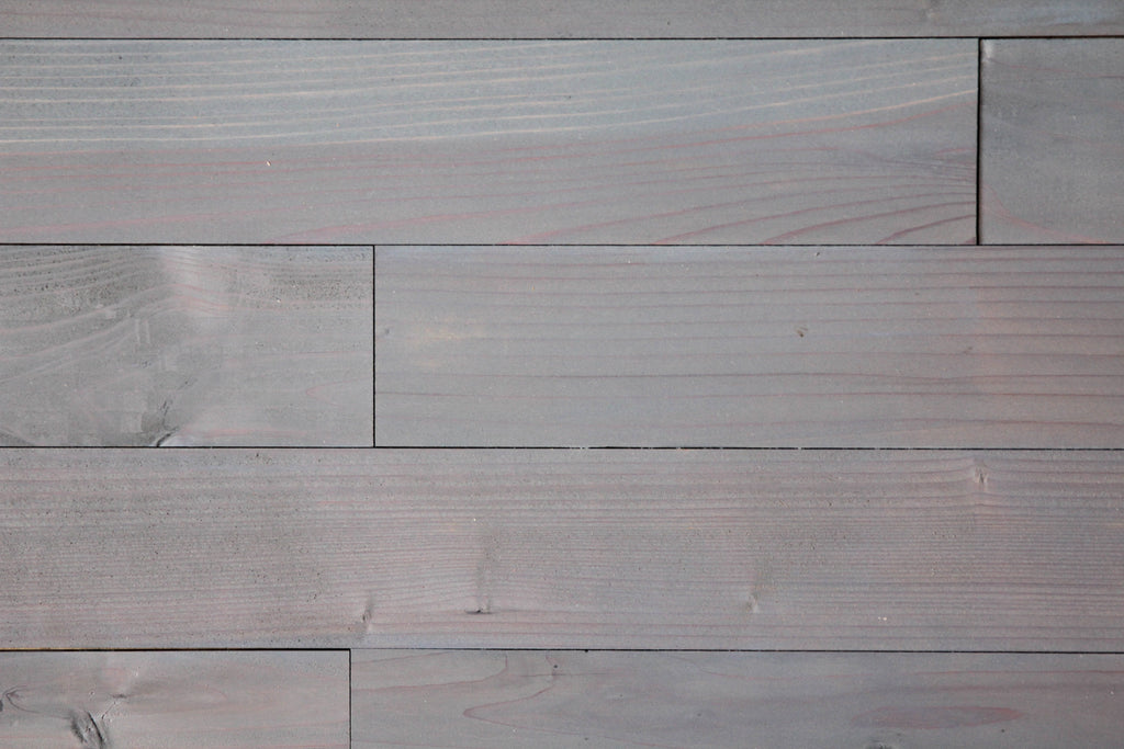 "Cadet Blue Finish 3"" Wide Planks"