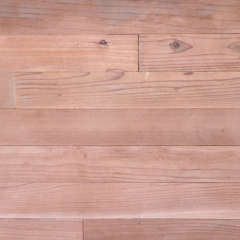 "Untreated Redwood 3"" Wide Planks"