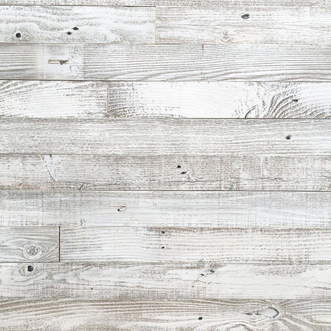 "Whitewash Barn Wood 3"" Wide Planks"