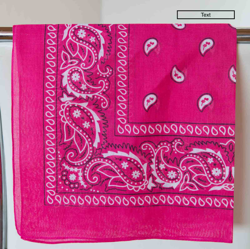 Bandana Accessory Bandanas Chance Loves RUBY Pink