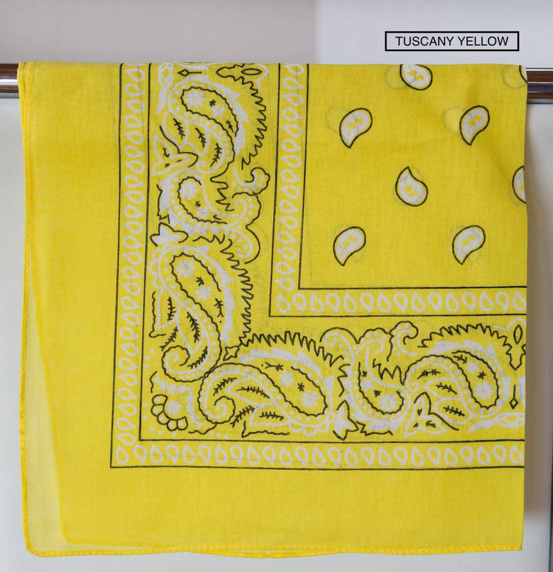 Bandana Accessory Bandanas Chance Loves TUSCANY Yellow