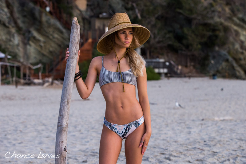 reversible bikini with 2 amazing sides. High Quality and made with sustainable materials.
