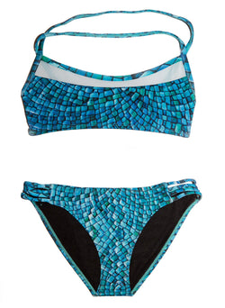 Ocean Mosaic Bikini - Chance Loves Swimwear