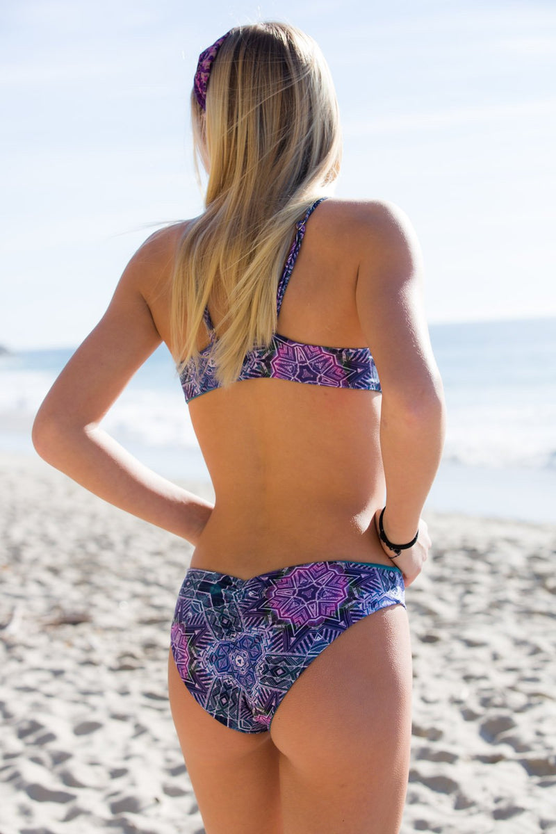 PURPLE HAZE - Reversible HIPSTER BIKINI BOTTOMS Hipster Bikini Bottoms Chance Loves Swim