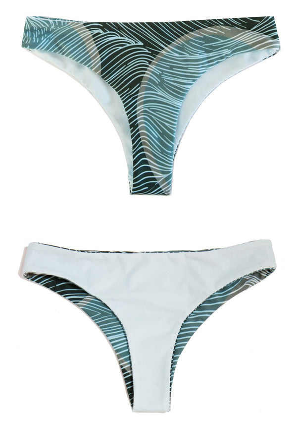 SEA GYPSY - Reversible BIKINI BOTTOMS CHEEKY Cheeky Bikini Bottoms Chance Loves Swim XS