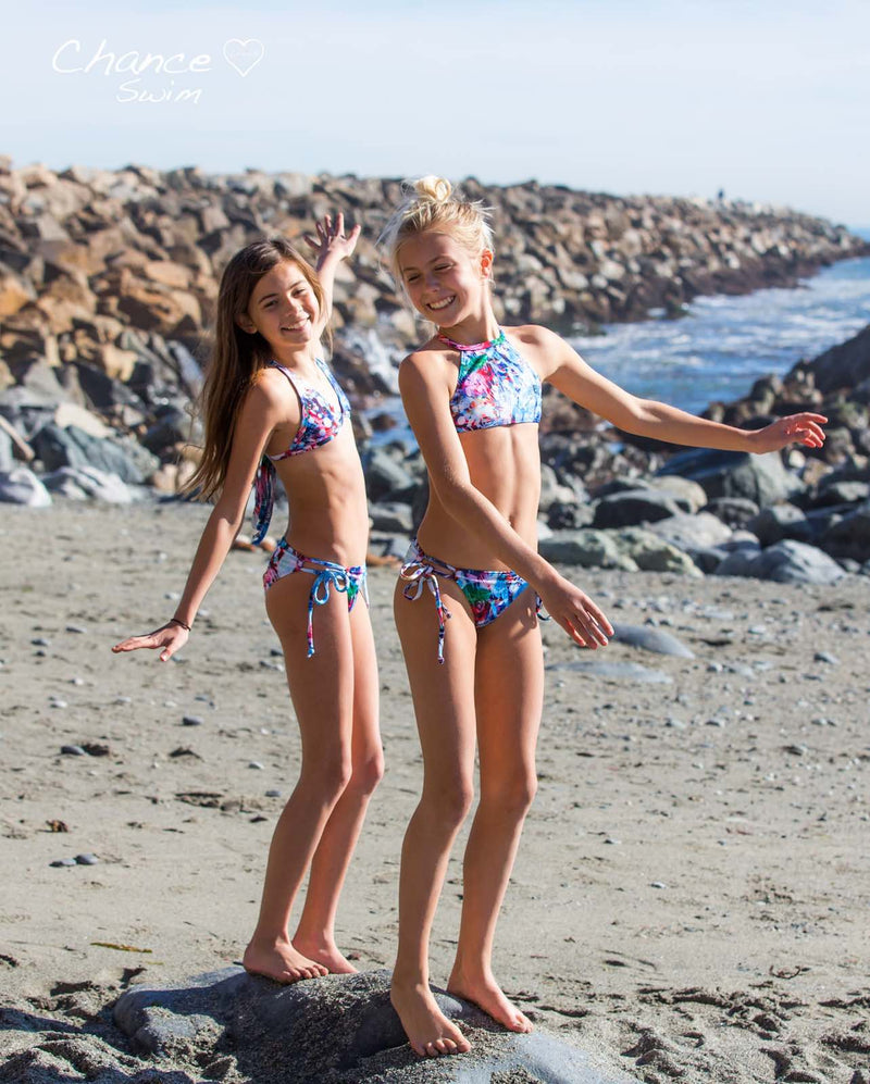 Laguna Art - TWO PIECE Colorful GIRLS SWIMSUIT SET