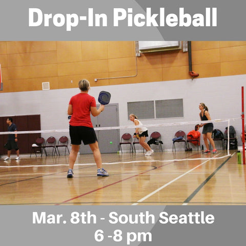 Drop-In Mar. 8th Drop-In Pickleball - South Seattle - Smash Pickleball Drop-In