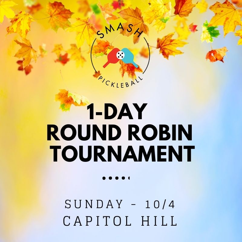10/4/2020 - Round Robin Mini Tourney - Skill 2.5 - Afternoon