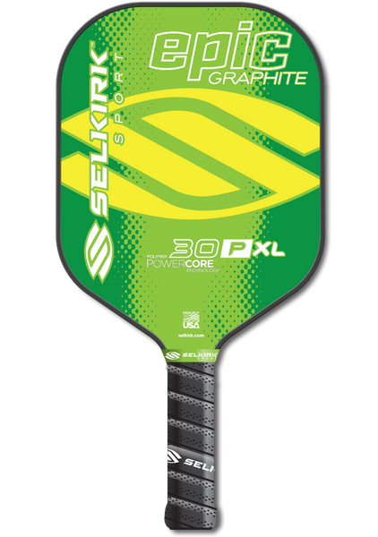 Selkirk 30P XL Epic Polymer Core Graphite face Pickleball Paddle