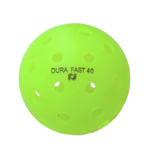 Ball Dura Fast 40 (Outdoor) Ball - Smash Pickleball Ball