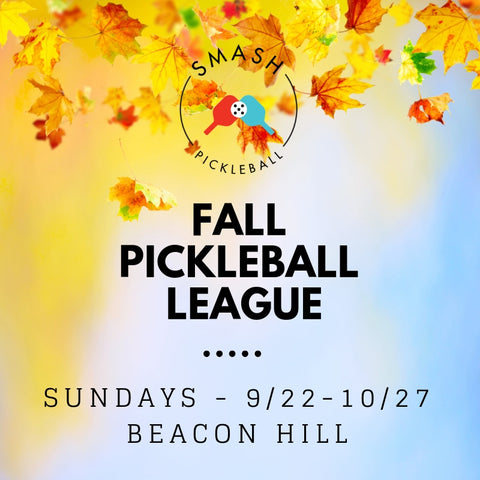 League 6-week Indoor Fall Pickleball League - Sundays @ Beacon Hill - Smash Pickleball League