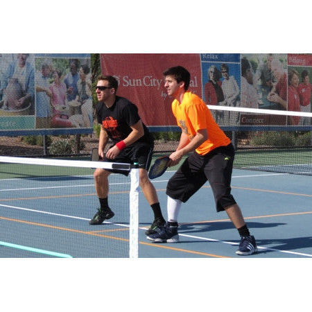 portable pickleball nets work great for pickleball tournaments
