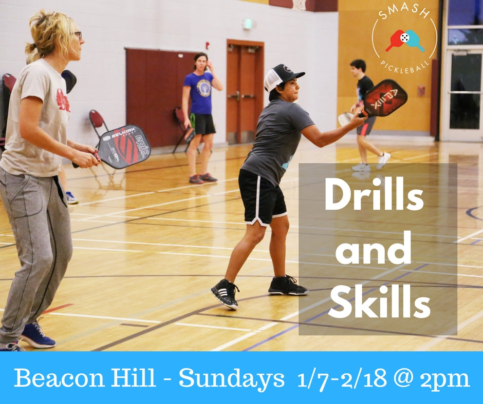 Drop-In Winter Drills and Skills - Per Week - Smash Pickleball Drop-In
