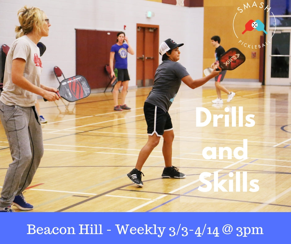 Drop-In Spring Drills and Skills - 6-Week Package - Smash Pickleball Drop-In