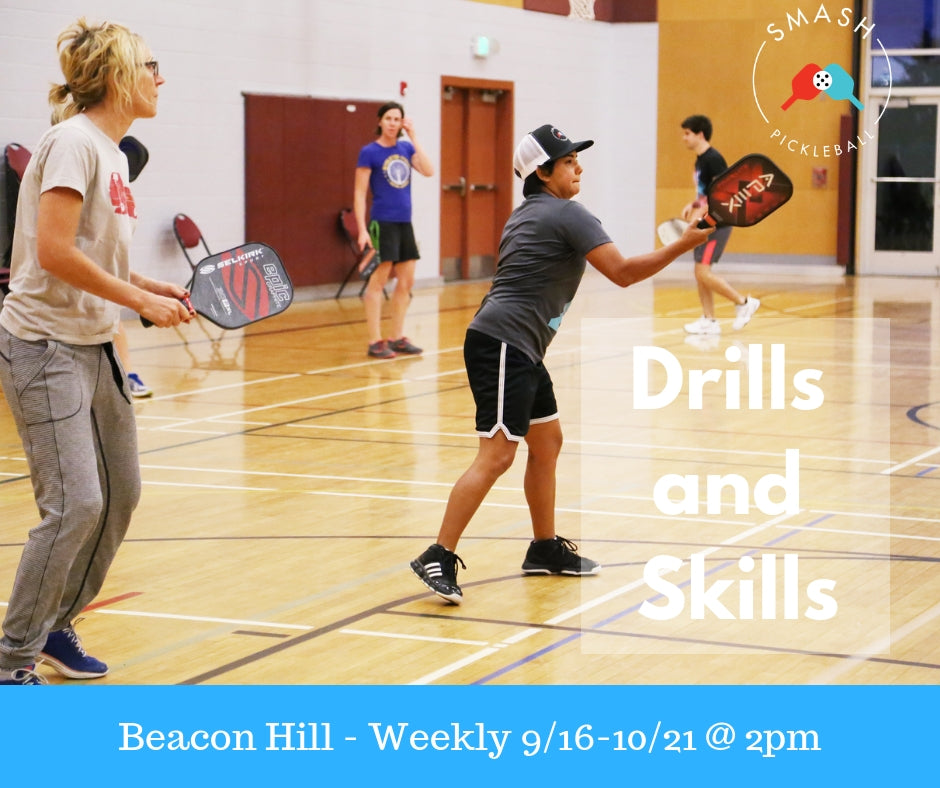 Drop-In Spring Drills and Skills - Per Week - Smash Pickleball Drop-In