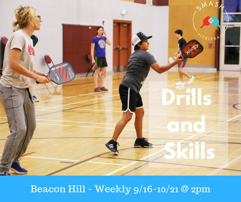 Drop-In Fall Drills and Skills - Per Week - Smash Pickleball Drop-In