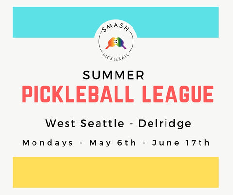League 6-week Indoor Summer Pickleball League - Mondays @ West Seattle - Smash Pickleball League