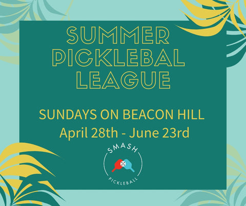 League 6-week Indoor Summer Pickleball League - Sundays @ Beacon Hill - Smash Pickleball League