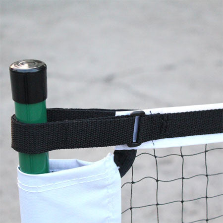 Portable pickleball net easy to set-up