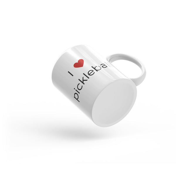 Mug I Heart Pickleball Mug - Smash Pickleball Mug