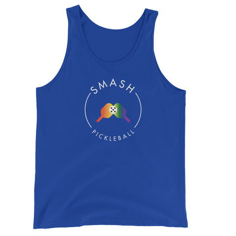 Rainbow Smash Picklball Unisex Tank - Smash Pickleball