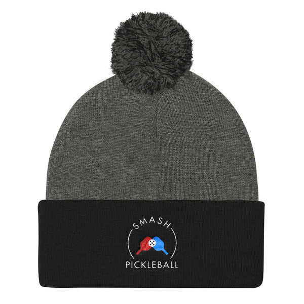 Smash Pickleball Pom Pom Beanie - Smash Pickleball