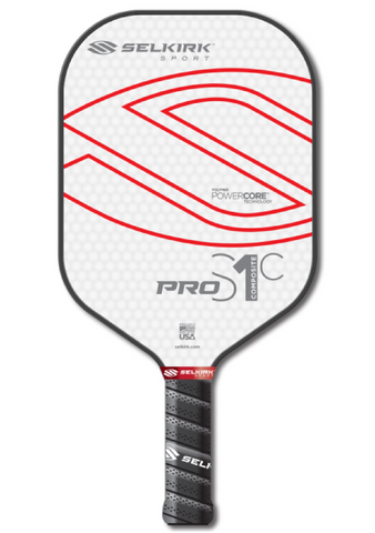 Selkirk PRO S1C POLYMER COMPOSITE PICKLEBALL PADDLE