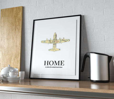 aviation poster home