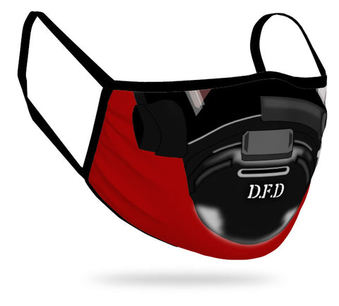 personalized fire fighter mask